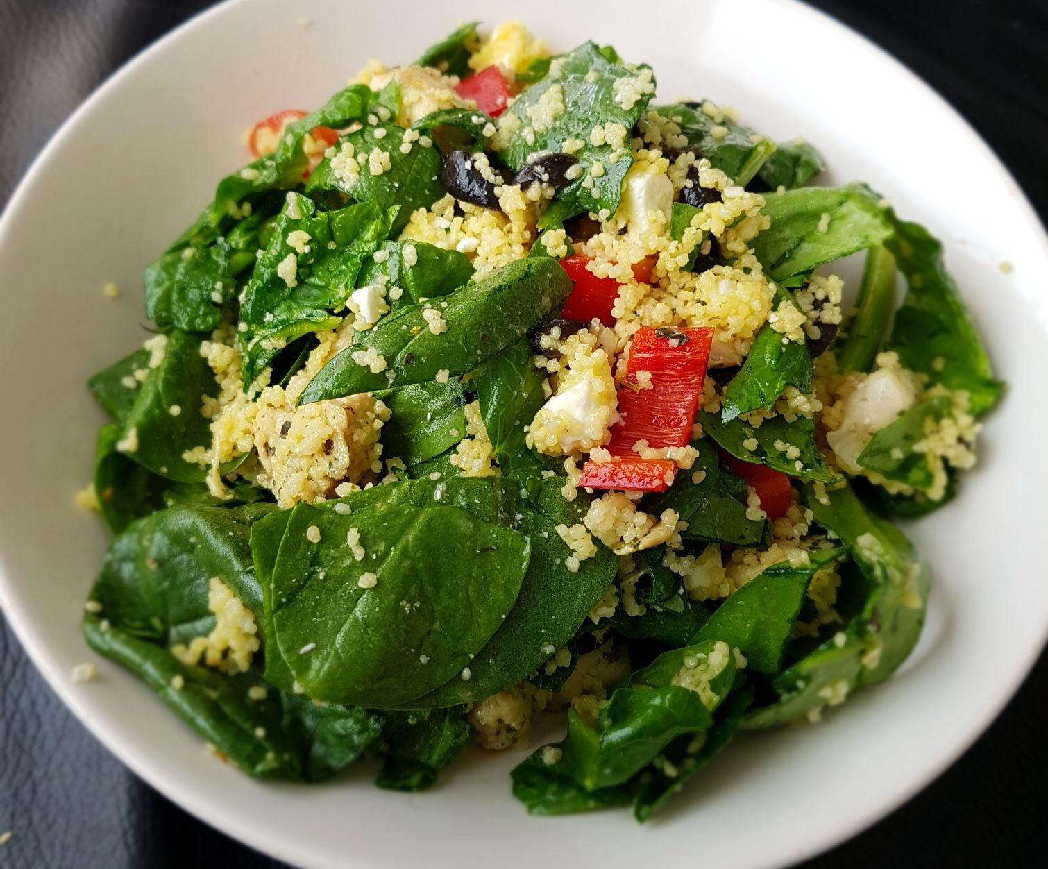 couscous salade gemaakt door Didi